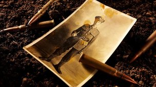 picture of WW1 soldier