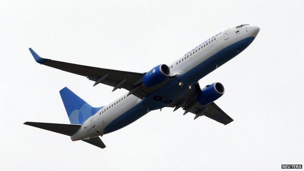 Dobrolet airliner