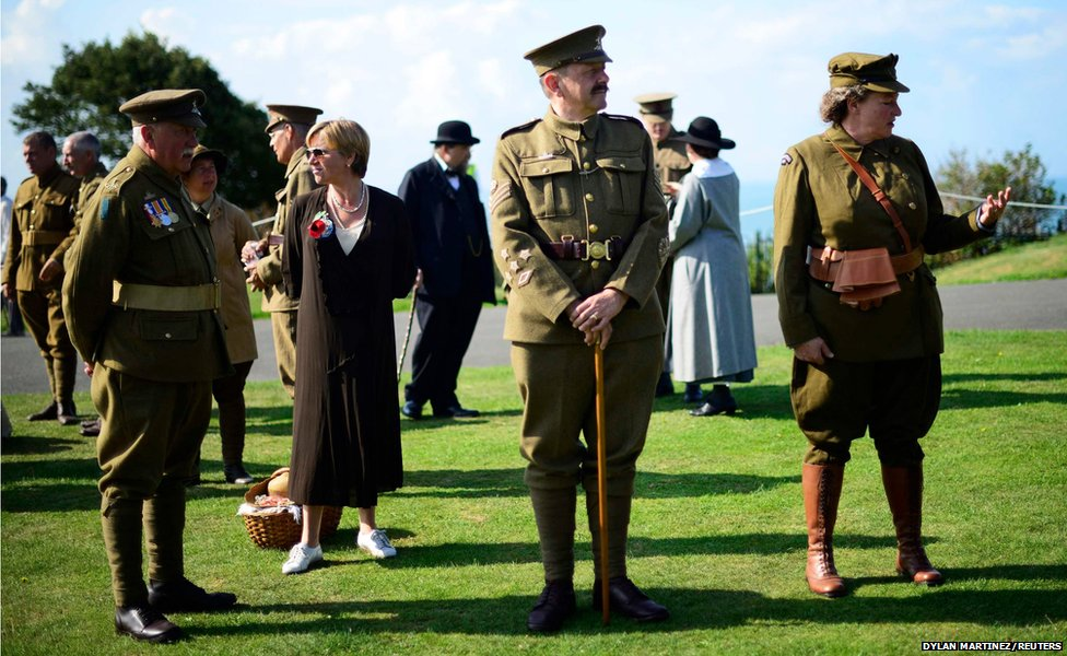 Members of the Rifles Living Society