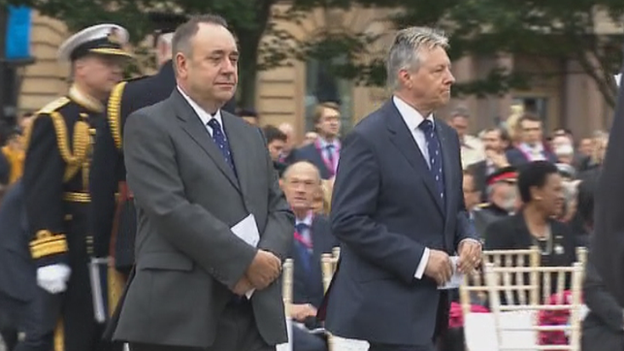 Alex Salmond and Peter Robinson