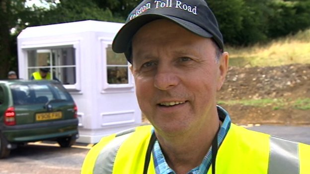 Mike Watts from Kelston Toll Road