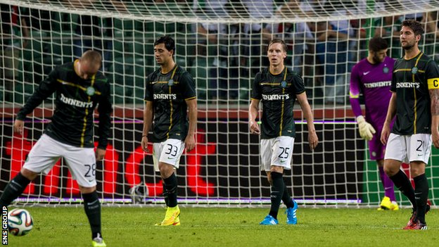 Celtic must overcome a three-goal deficit to reach the next round of Champions League qualifying