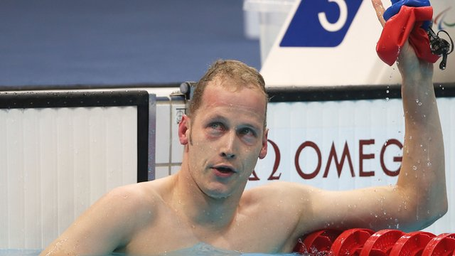 Swimmer Sascha Kindred aiming for European success