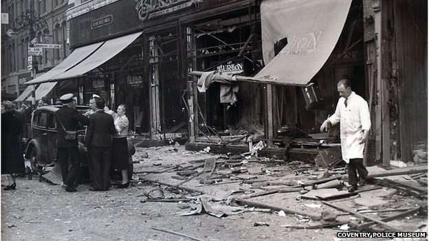 Broadgate after the explosion