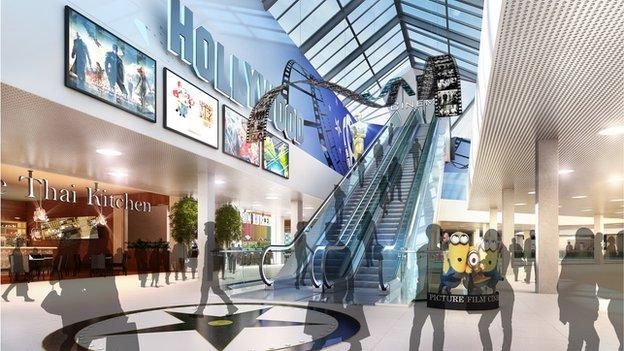 Bon Accord & St Nicholas shopping centres in Aberdeen