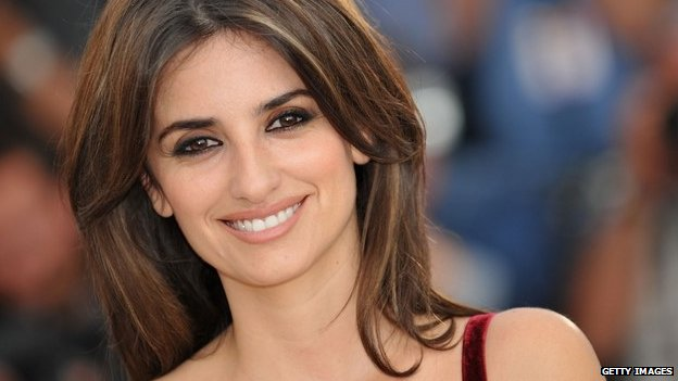 Actress Penelope Cruz in 2008