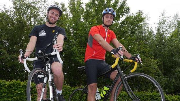 Sean Bloomfield and Josh Sheppard
