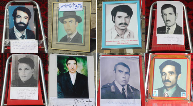 Portraits of those who were executed