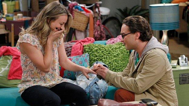 Series seven of Big Bang Theory