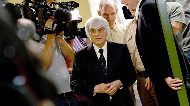 Bernie Ecclestone's £60m payment ends trial