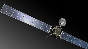 Artist's impression of the Rosetta spacecraft