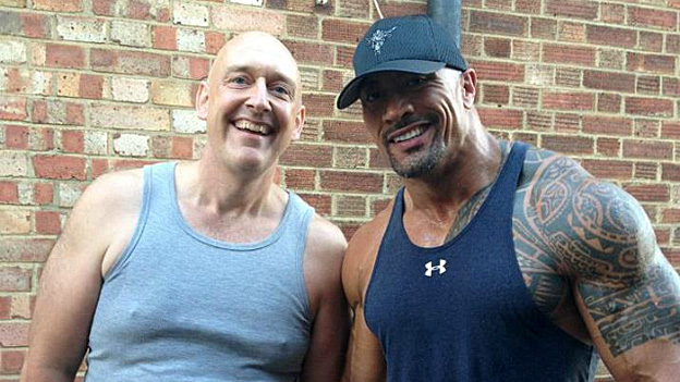 Tony Steer and The Rock