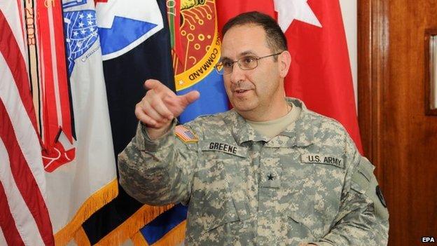 Maj-Gen Harold Greene (August 2014)