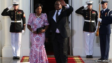 Malawi President and his wife