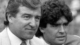 Terry Venables & Diego Maradona