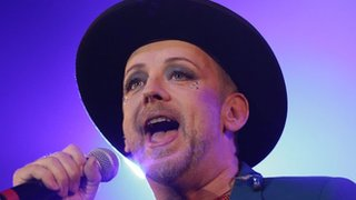BBC News - Ill Boy George scraps Culture Club reunion tour