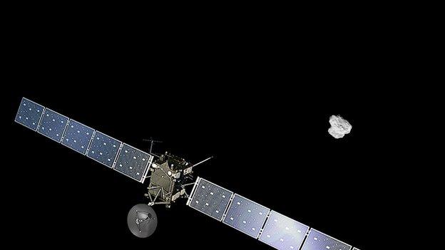 Rosetta approaching 67P
