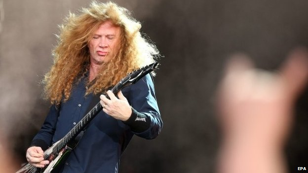Megadeth guitarist Dave Mustaine