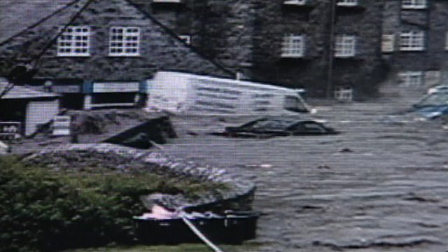 Boscastle flood