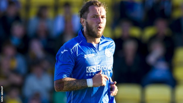 Stevie May could play his last game for St Johnstone on Thursday