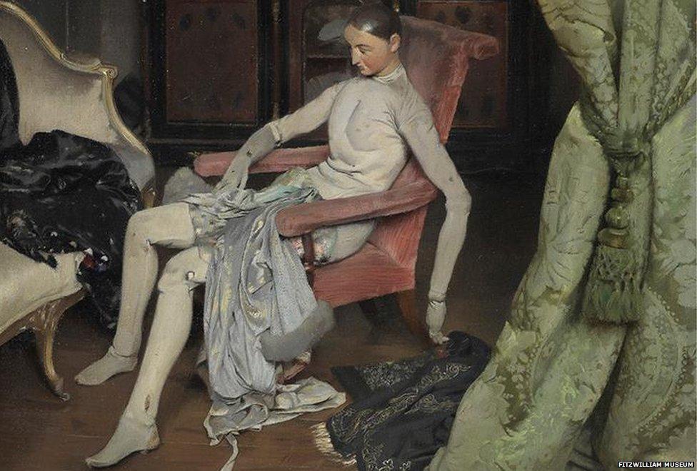 Alan Beeton (1880-1942), Reposing c. 1929