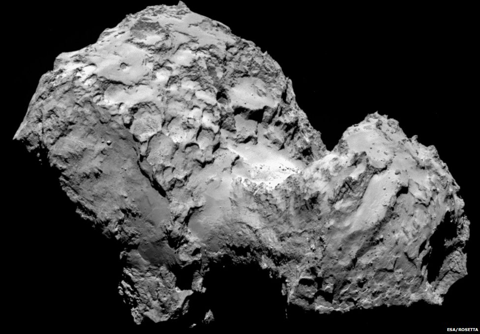 comet close up