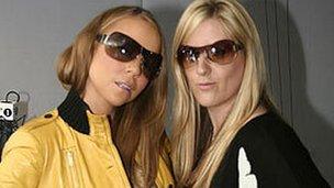 Mariah Carey and Victoria