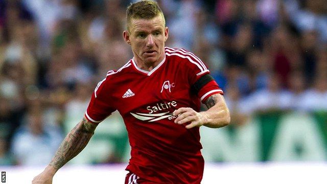 Aberdeen's Jonny Hayes