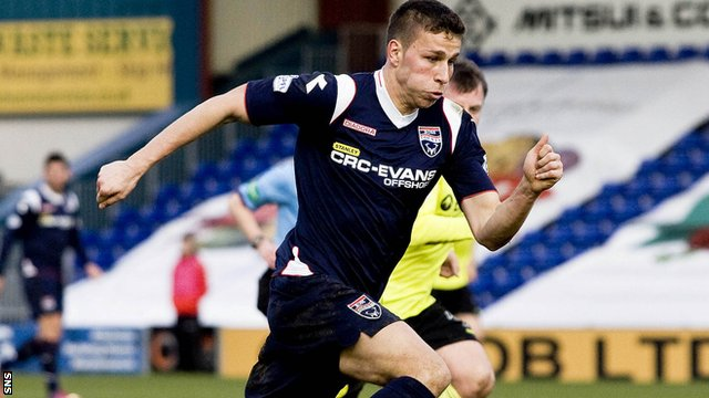 Ross County's Filip Kiss