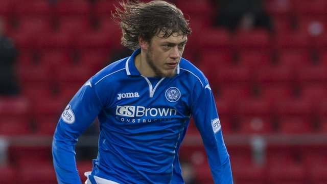 St Johnstone's Murray Davidson