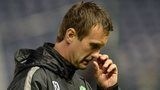Celtic midfielder Nir Biton and manager Ronny Deila