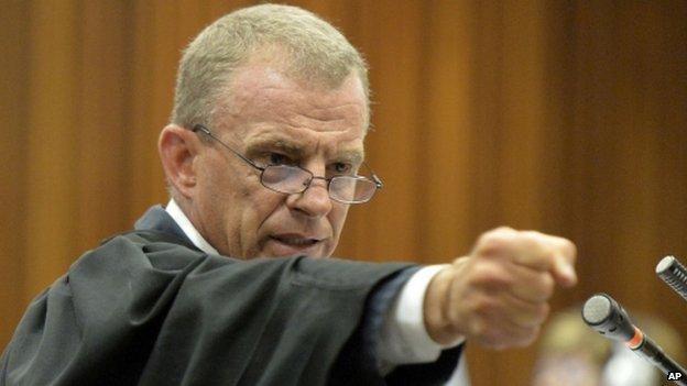 State prosecutor Gerrie Nel (April 2014)