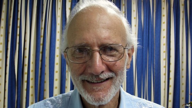 US government contractor, Alan Gross in jail in Cuba