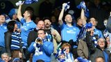 St Johnstone fans celebrated a Scottish Cup win last season