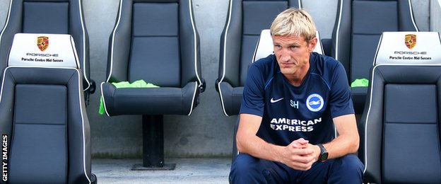 New Brighton boss Sami Hyypia