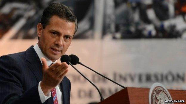 Mexican President Pena Nieto