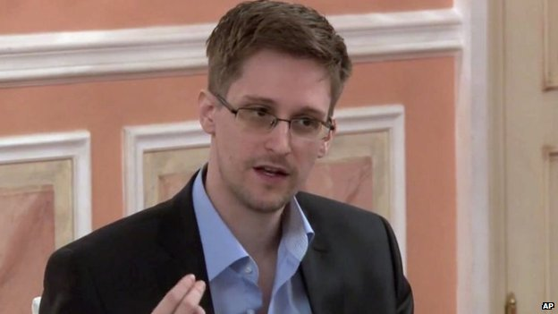 File photo: Edward Snowden, 11 October 2013