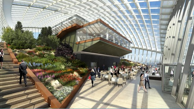 Sky Garden at 20 Fenchurch Street