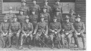 Australian soldiers WW1