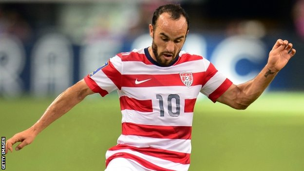 Former Everton forward Landon Donovan