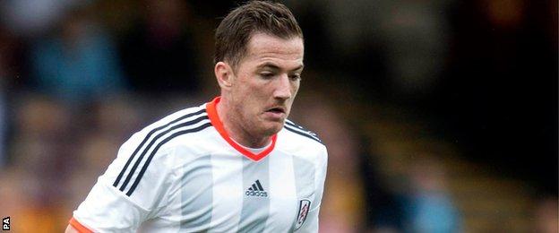 Fulham's Ross McCormack