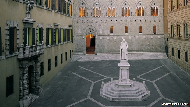 Headquarters of Monti dei Pasche di Siena