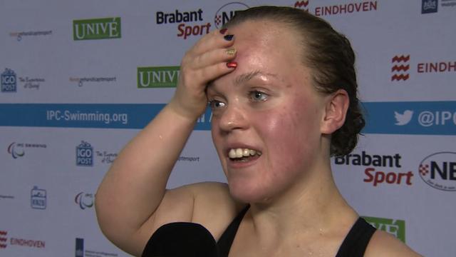 Swimmer Ellie Simmonds