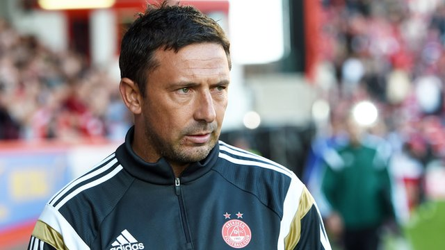 Aberdeen manager Derek McInnes