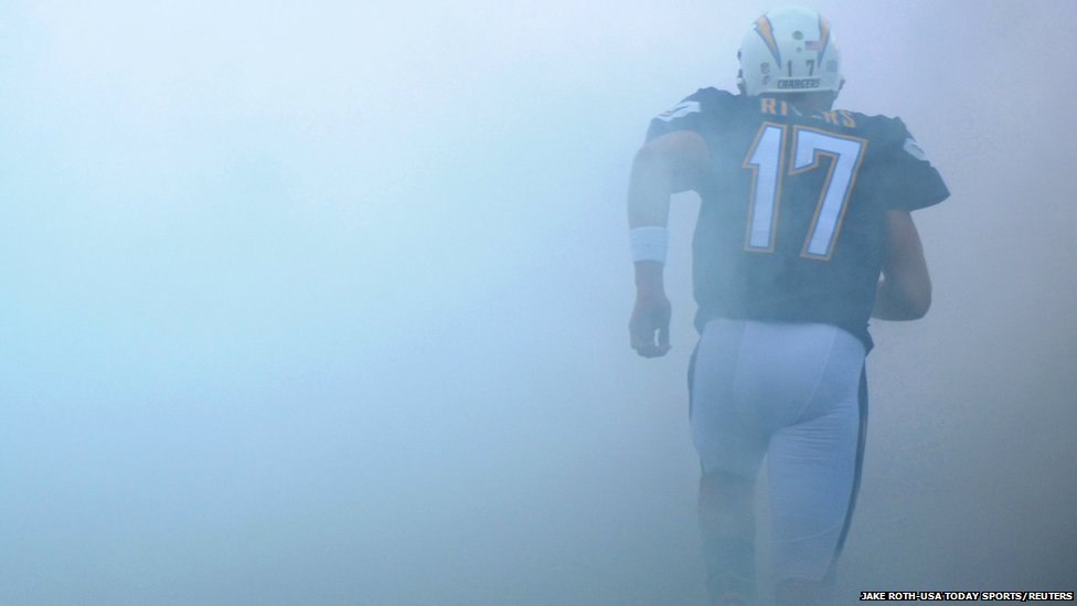 San Diego Chargers quarterback Philip Rivers