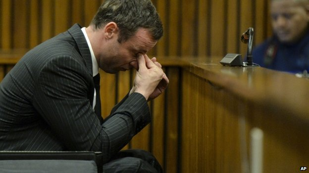 Oscar Pistorius in court on Friday 8 August 2014
