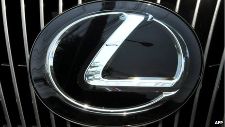 Lexus car badge