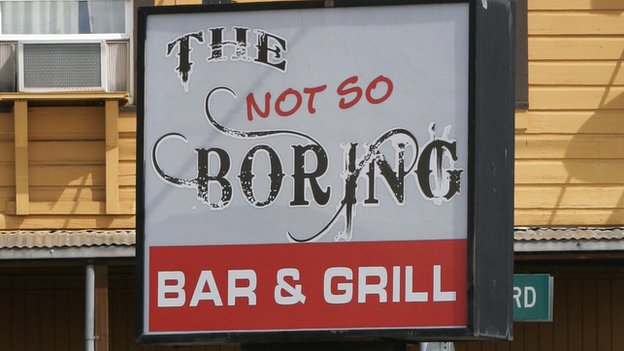 Boring bar and grill