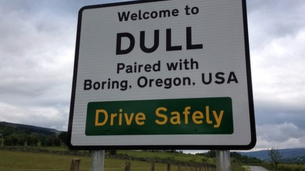 Dull sign