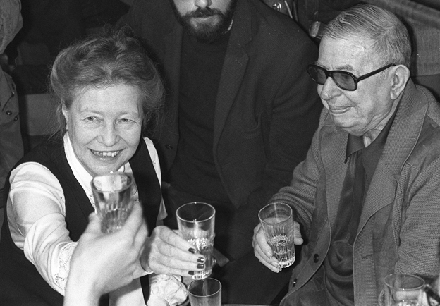 Simone de Beauvoir and Jean-Paul Sartre